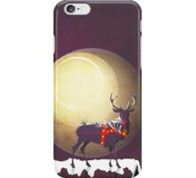 The Christmas Ravenstag iPhone Case/Skin