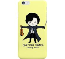 Sherlock is Not a Psychopath iPhone Case/Skin