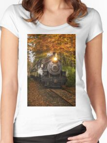 Engine #40 Women's Fitted Scoop T-Shirt