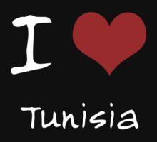 I love Heart Tunisia Baby Tee