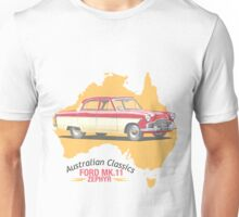 Ford Mark 2 Zephyr-Classic Australian Cars Unisex T-Shirt