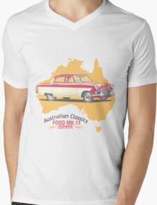 Ford Mark 2 Zephyr-Classic Australian Cars Mens V-Neck T-Shirt