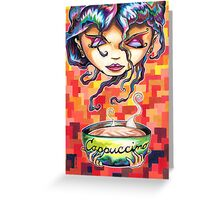 Cappuccino Royale Greeting Card