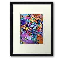 Happy Festival of the Rainbow's Butterflies Framed Print