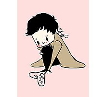 Itty Bitty Wittle Castiel Photographic Print