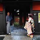 Geisha school, Gion district by Robyn Lakeman