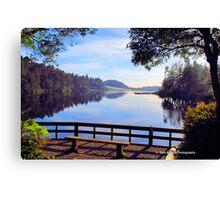 Cleawox Lake Florence Oregon Canvas Print