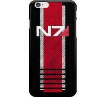 N7 worn iPhone Case/Skin
