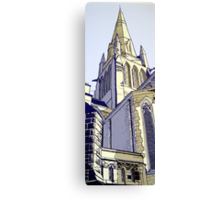 Sacred Heart Church. Bendigo Canvas Print