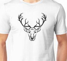 Deer head antlers Unisex T-Shirt