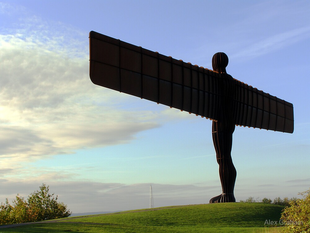 Angel of the North, Newcastle by Alex Graham