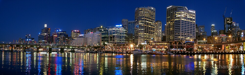 Sydney, Darling Harbour - Cockle Bay by champion