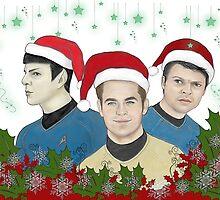 Merry Christmas From The Triumvirate! by artbycheryllyne