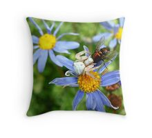 Fly Trap Throw Pillow