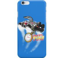 Out of the time iPhone Case/Skin
