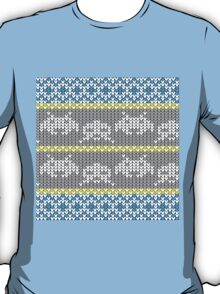 Knitted Space Invaders T-Shirt