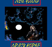 """Neil Young """" Crazy Horse"""" by ADALI"""