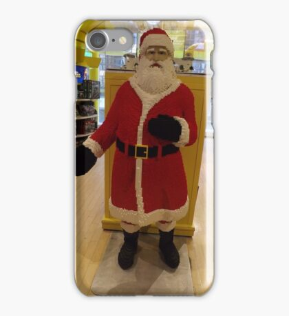 Lego Santa Claus, FAO Schwarz Toystore, New York City iPhone Case/Skin