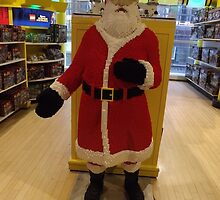 Lego Santa Claus, FAO Schwarz Toystore, New York City by lenspiro