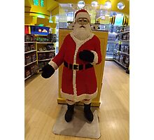 Lego Santa Claus, FAO Schwarz Toystore, New York City Photographic Print
