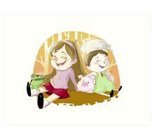 Mabel & Greg Art Print