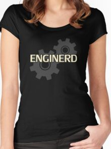 Enginerd Engineer Nerd Women's Fitted Scoop T-Shirt