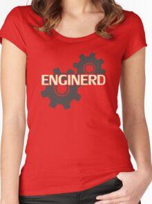 Enginerd Engineer Nerd Women's Fitted Scoop T-Shirt