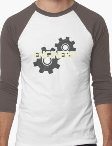 Enginerd Engineer Nerd Men's Baseball ¾ T-Shirt