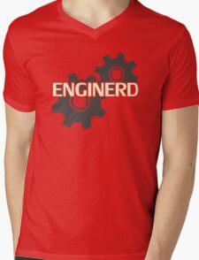 Enginerd Engineer Nerd Mens V-Neck T-Shirt