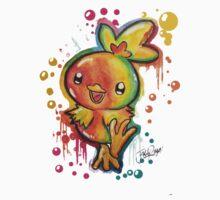 Cute Torchic Spraypaint Tshirts + More! ' Pokemon ' Kids Clothes