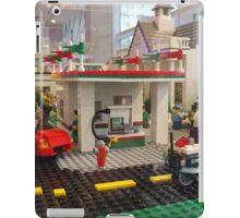 Lego Gas Station, FAO Schwarz Toystore, New York City iPad Case/Skin