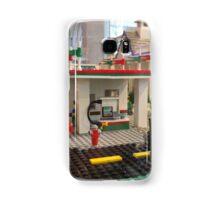Lego Gas Station, FAO Schwarz Toystore, New York City Samsung Galaxy Case/Skin