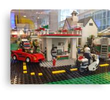 Lego Gas Station, FAO Schwarz Toystore, New York City Canvas Print