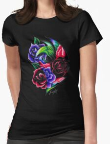 The scent of Roses Roses Roses Womens Fitted T-Shirt