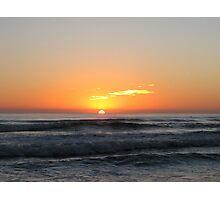 Currumbin Beach sunrise Photographic Print