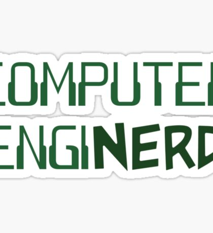 Computer Engineer Enginerd Sticker