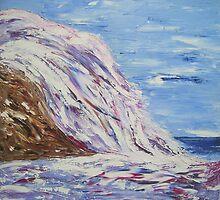 Blue Cascade by annemac