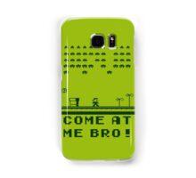 Space Invaders In The Mushroom Kingdom Samsung Galaxy Case/Skin