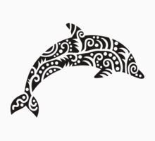 Black dolphin design by Designzz
