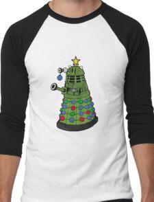 A Dalek Christmas Men's Baseball ¾ T-Shirt