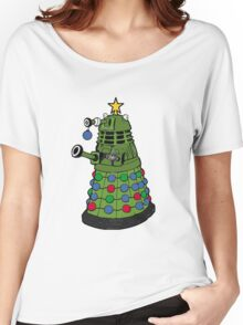 A Dalek Christmas Women's Relaxed Fit T-Shirt