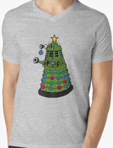 A Dalek Christmas Mens V-Neck T-Shirt