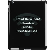 There's No Place Like Home IP Address iPad Case/Skin
