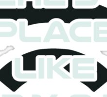 There's No Place Like Home IP Address Sticker