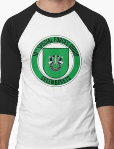 10th Special Forces Men's Baseball ¾ T-Shirt