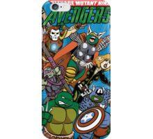 Teenage Mutant Ninja Avengers iPhone Case/Skin