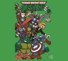 Teenage Mutant Ninja Avengers Kids Clothes
