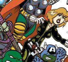 Teenage Mutant Ninja Avengers Sticker