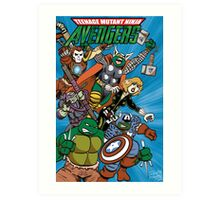 Teenage Mutant Ninja Avengers Art Print