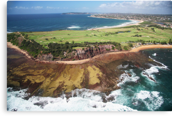 Long Reef Point, from the air by Roger Barnes
